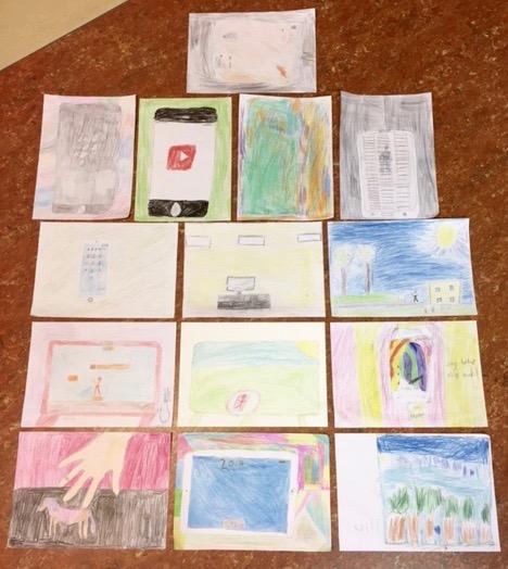 Teckningar Magra Skola